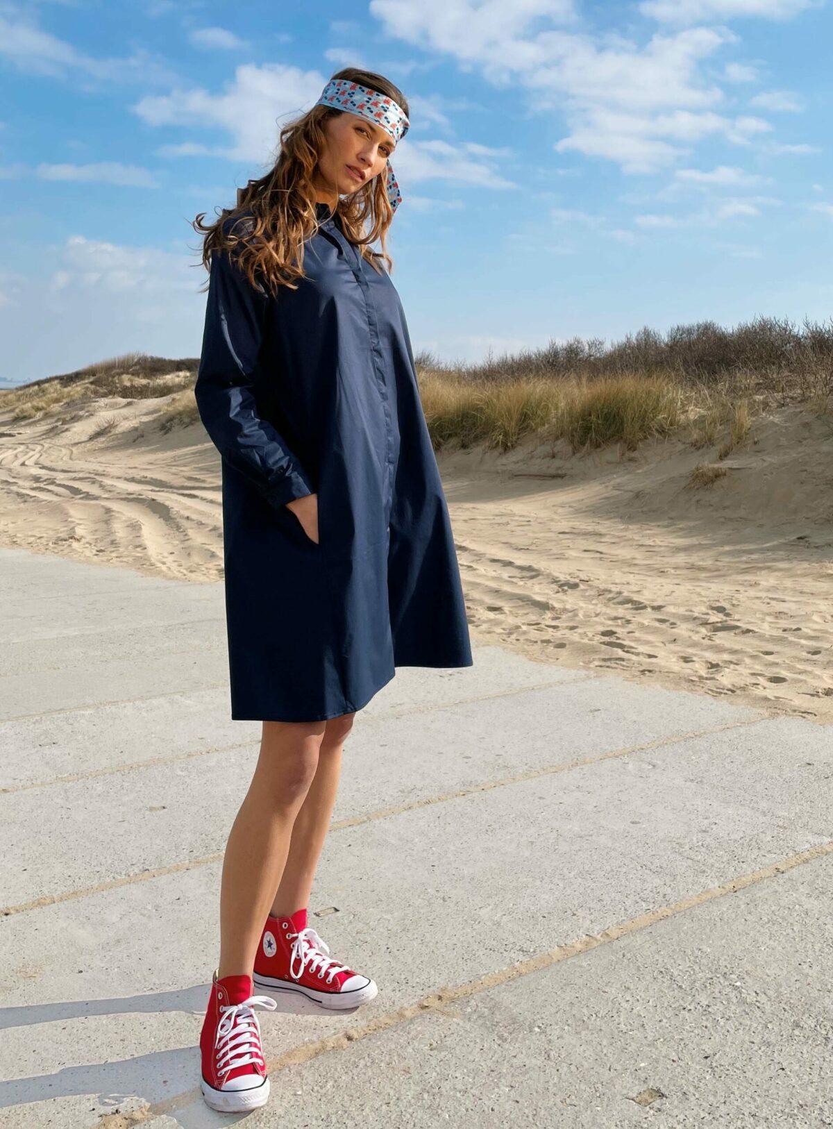 DRESS Camille navy