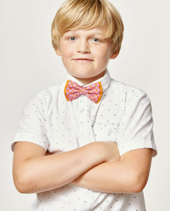 pink bowtie for kids