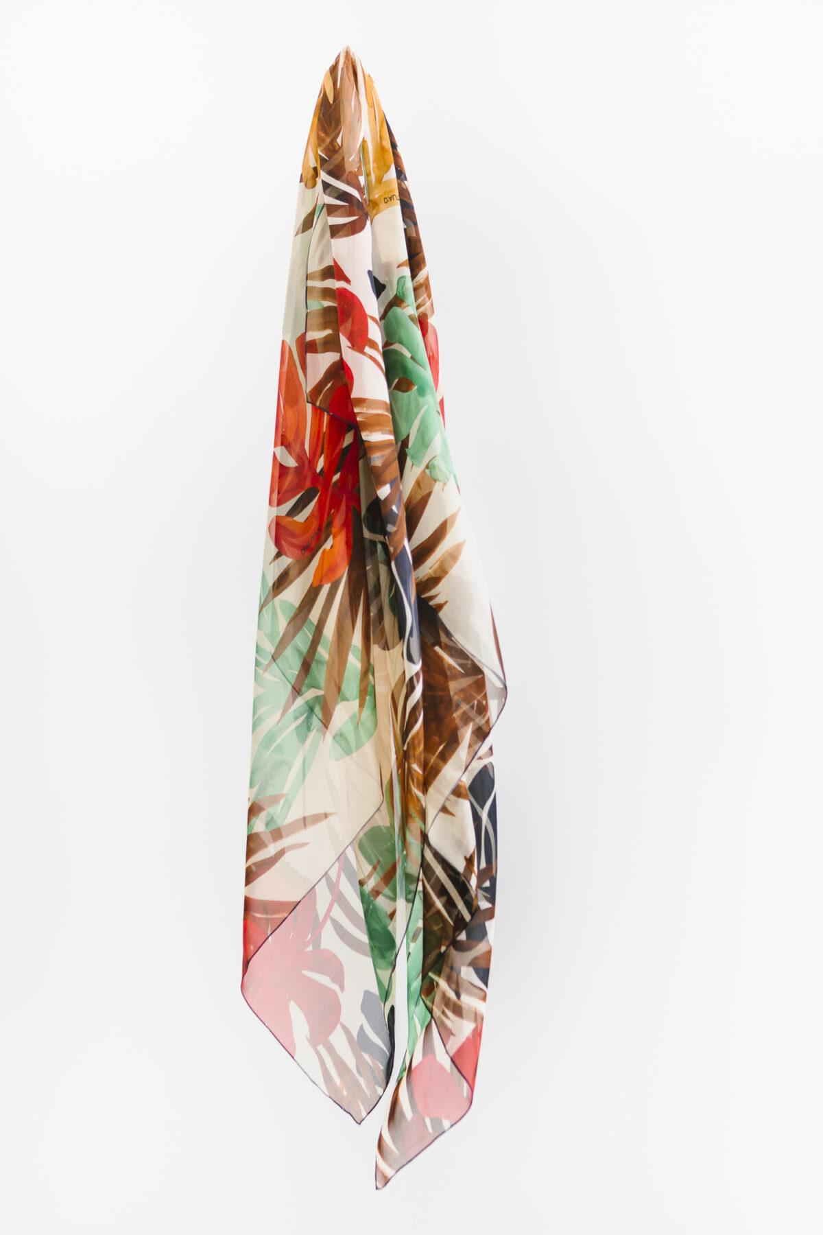 Silk Chiffon Jungle mInt